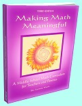 Making Math Meaningful - A Middle School Math Curriculum for Teachers and Parents by Jamie York